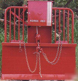 New norse 390 logging winch 3PT  tractor mount