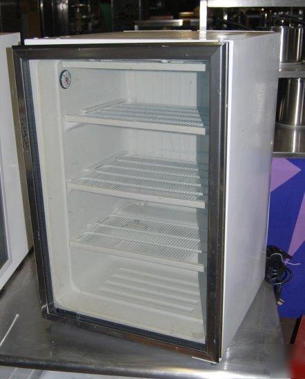 Countertop Glass Door Freezer Display Merchandiser