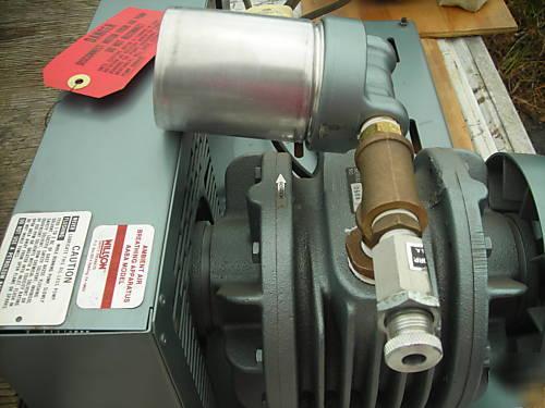 New Gast Oilless Compressor 3 Hp Motor Aaba 3040 P119g