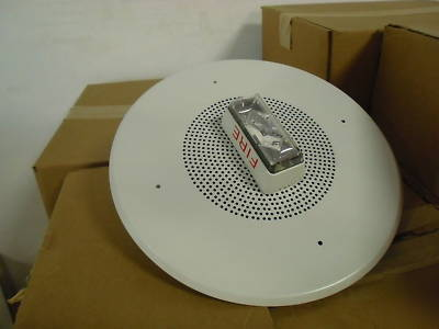 est fire alarm system lot smoke detectors,strobe lights