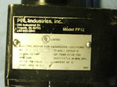 Greco/pbl industries, inc. fuel transfer pump mdl.FP12