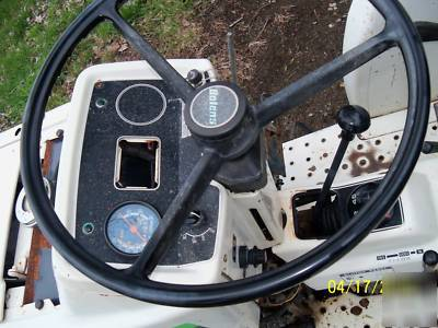 Bolens diesel G212 tractor 21HP w/ 5' 3PT finish mower