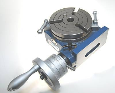 Vertex Hv4 Rotary Table 4 Quot 100mm Horizontal Vertical
